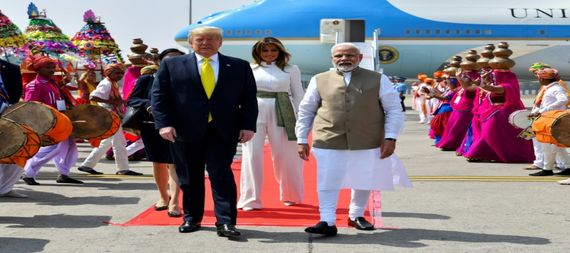 Trump begins a two-day state visit to India 813999-8054d974-b7ab-4b9f-ad3a-57fe199c54e7