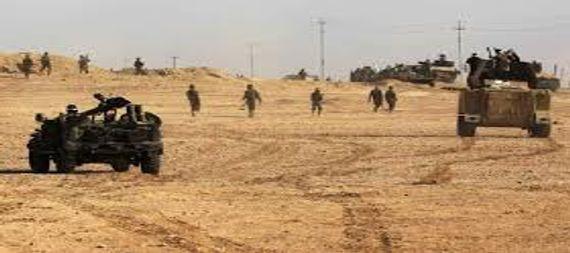 الحشد الشعبي يقصف اهدافا مهمة لتنظيم داعش شمال شرق بعقوبة