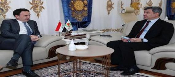 The Minister of Oil discusses with the President of the French company Total in Iraq to enhance joint cooperation in the field of energy and gas investment 872653-3b9a8b66-b0c7-44f0-bdd2-053019a1536a