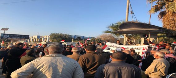 Demonstrations in Babylon to protest the high price of the dollar 877595-25f2c99a-a384-4c78-badd-71f26d54a7b3