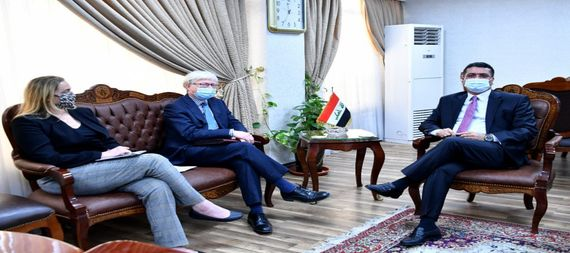 Iraq and the United Kingdom are discussing ways to conclude a long-term economic partnership agreement 879360-52a0e17b-8fe7-4c4c-9ff5-888e02f4a0ee