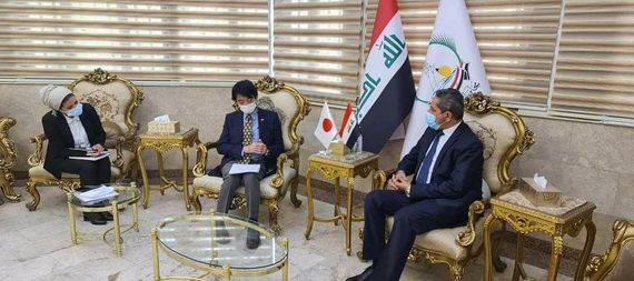 The Basra government is discussing with the Japanese deputy ambassador the implementation of Japanese loan projects in the province 890573-98cbc3c2-ae02-47fb-a6a9-68596ee6b404