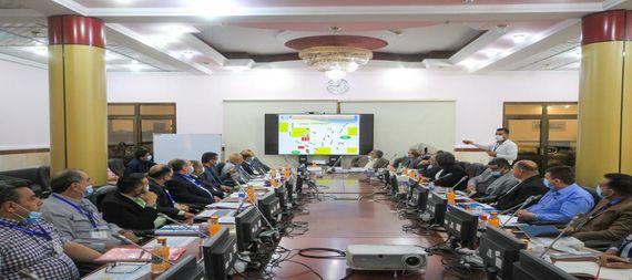 شركة نفط ميسان تحتضن اجتماعاً موسعاً للجنة الصحة والسلامة والبيئة الخاصة بالقطاع النفطي