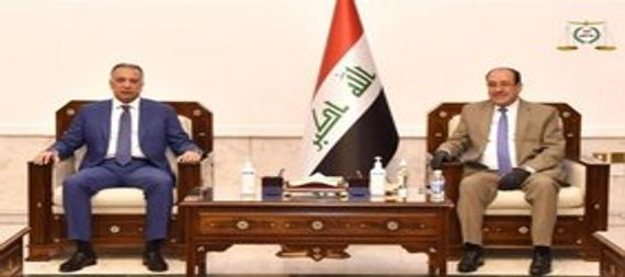 Al-Maliki and Al-Kazemi discuss the latest developments in the political and security situation in the country 907011-33201b19-7ac2-40c7-b381-e52d7d64381f