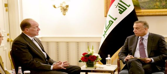 Al-Kazemi discusses with the President of the World Bank Group the support of the Iraqi government in administrative reform and combating corruption 918165-88c3ab38-2014-4cc6-860c-9204a32a7197
