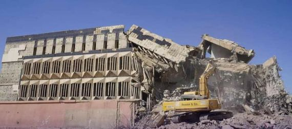 Reconstruction of the Central Bank of Iraq building in Old Mosul 924584-54d1134e-d38a-40fe-a4b0-5b4fd5f701ce