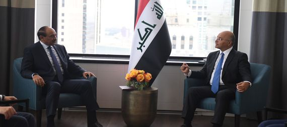 The President of the Republic affirms Iraq's keenness to build close relations with Kuwait and to enhance joint/expanded cooperation 928612-beb0b534-da51-406b-895f-f9726fc47aa1