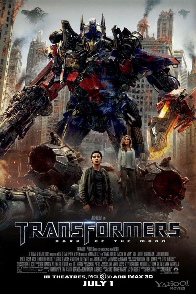 Transformers The Dark of the Moon (2011) BDRip XviD Lektor PL]
