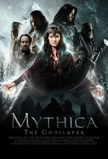 Mythica Pogromca bogów / Mythica The Godslayer (2016)  PL.HDRip.Xvid-MX / Lektor PL