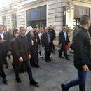 U POSETI SARAJEVU Patrijarh Porfirije i episkopi prošetali centrom grada do Stare crkve