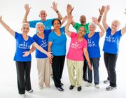 Fun exercise class for over 50's