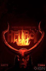 系列重啟!《天魔特攻》(Hellboy)首段預告片和海報曝光!!