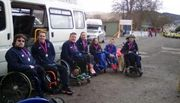 Wheelchair racing and / or race-running in the Dumfries & Galloway area.