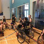 Hull University wheelchair basketball