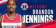 NBA官網:巫師正式簽下後衛Brandon Jennings