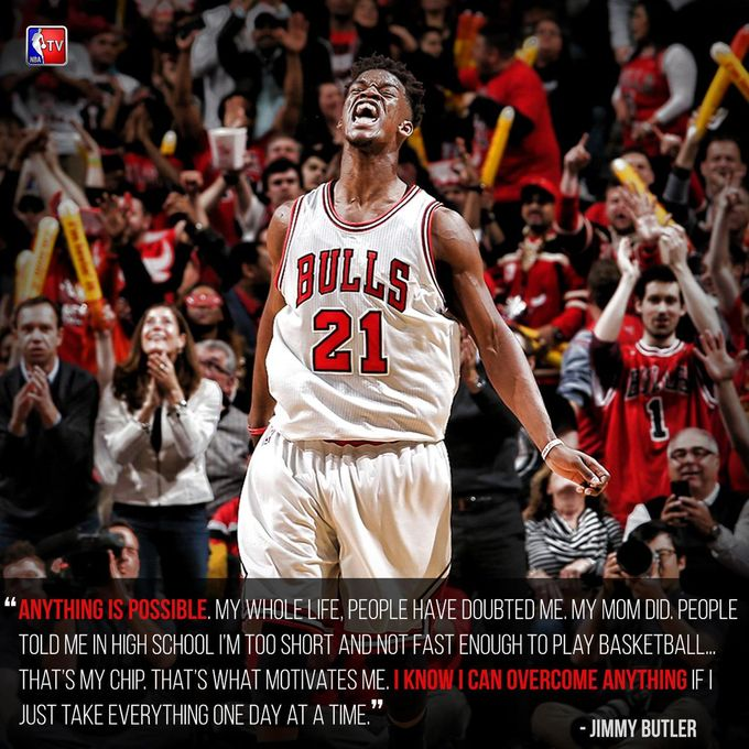 小故事:無家可歸的小子變成NBA的全明星 - Jimmy Butler