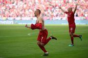 德甲精華 - 拜仁慕尼黑 5-1 法蘭克福│列貝利、洛賓建功夢幻告別 拜仁德甲七連霸