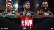出爐!NBA公佈年度獎項最終候選名單:快艇3人入選,Giannis、George競爭兩大獎項!