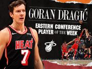 Goran Dragic,Anthony Davis 分別當選東西岸本週最佳球員!