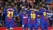 西班牙國王盃精華 - 巴塞隆拿 5(6-1)0 切爾達︱美斯、艾巴兩人互傳入三球...