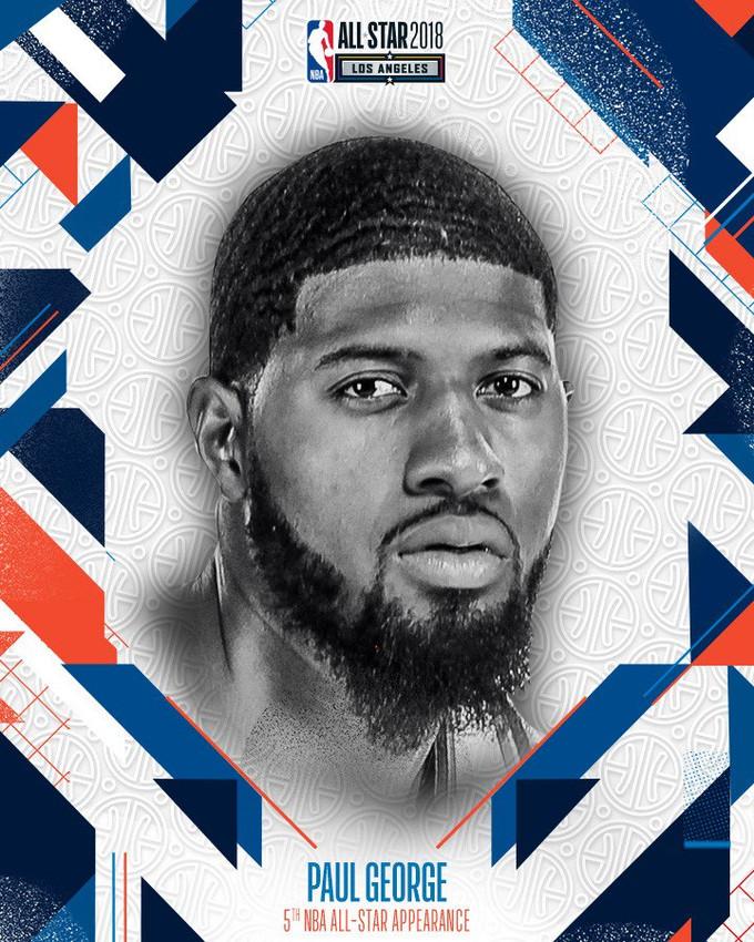 Paul George 將會取代 DeMarcus Cousins 出戰 2018 NBA 明星賽!
