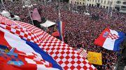 世界盃冠亞軍回國 法國凱旋回歸 克羅地亞英雄受萬民歡迎