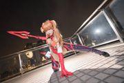 東京 Cosplay 活動中的明日香與凌波麗,養眼度十足!