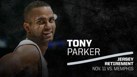 致敬!馬刺確認在11月11日退役Tony Parker9號球衣,GDP時代徹底落幕