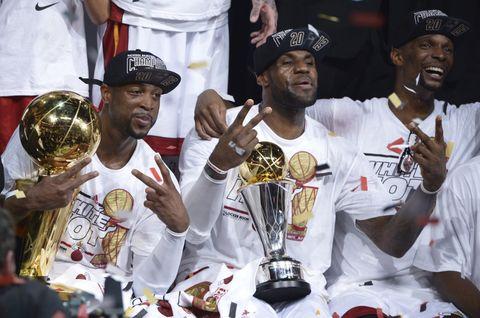 【NBA回顧】三巨頭篇:03一代齊聚邁阿密,當年熱火三巨頭究竟有多強?