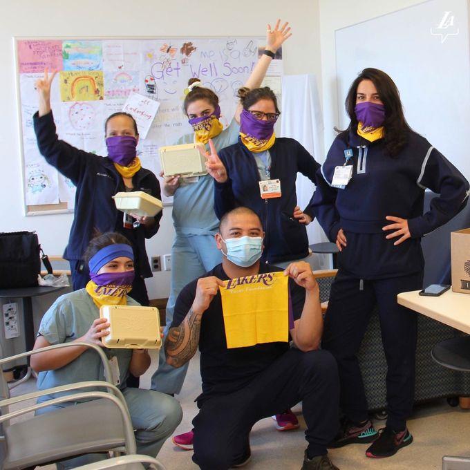 懷緬、打氣、在家工作——洛杉磯湖人抗疫近況更新