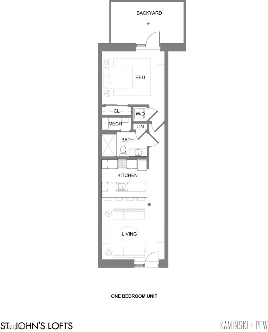 1217 N Hancock St, Unit #103 rental
