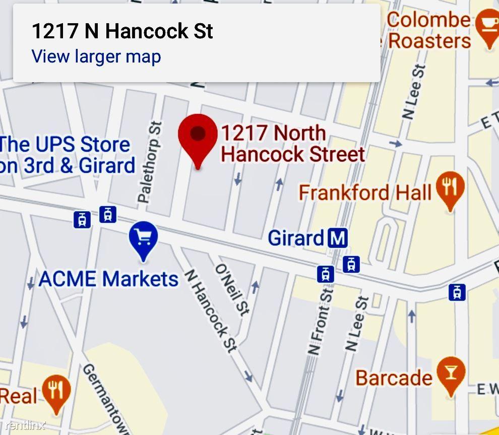 1217 N Hancock St, Unit #103