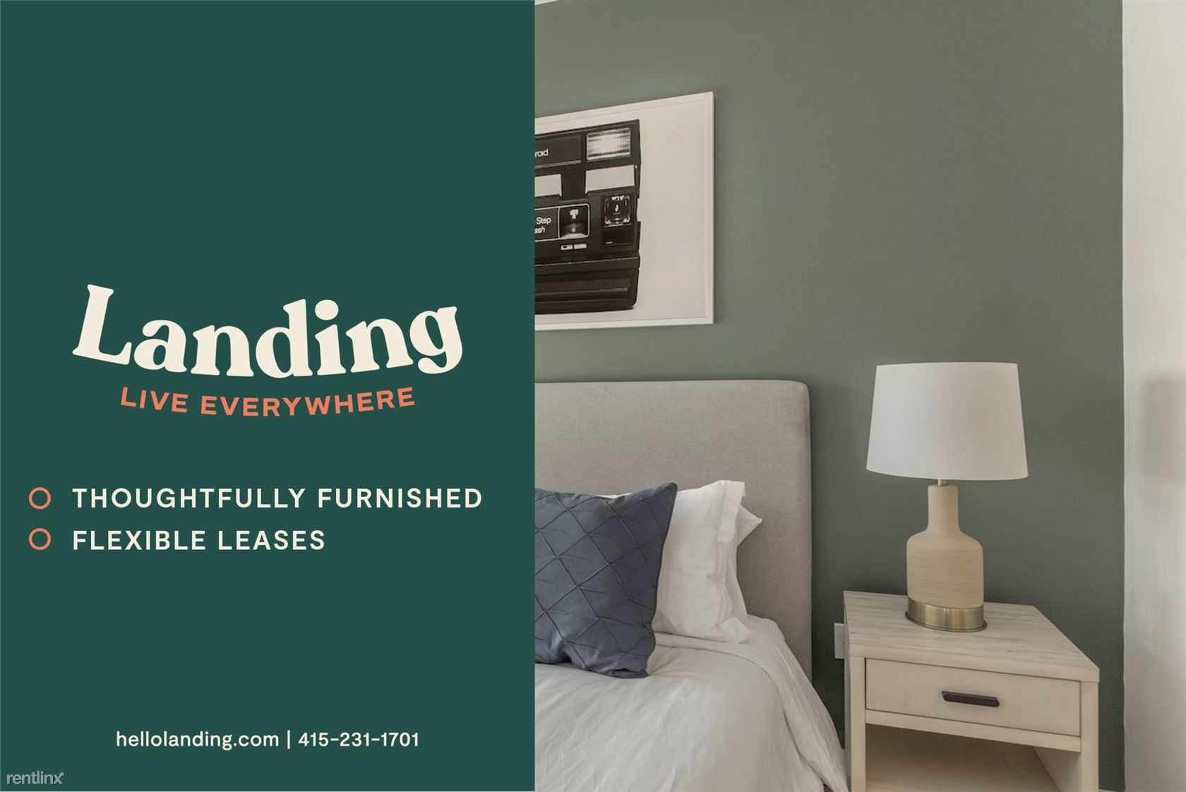 Landing Furnished Apartment Bellancia