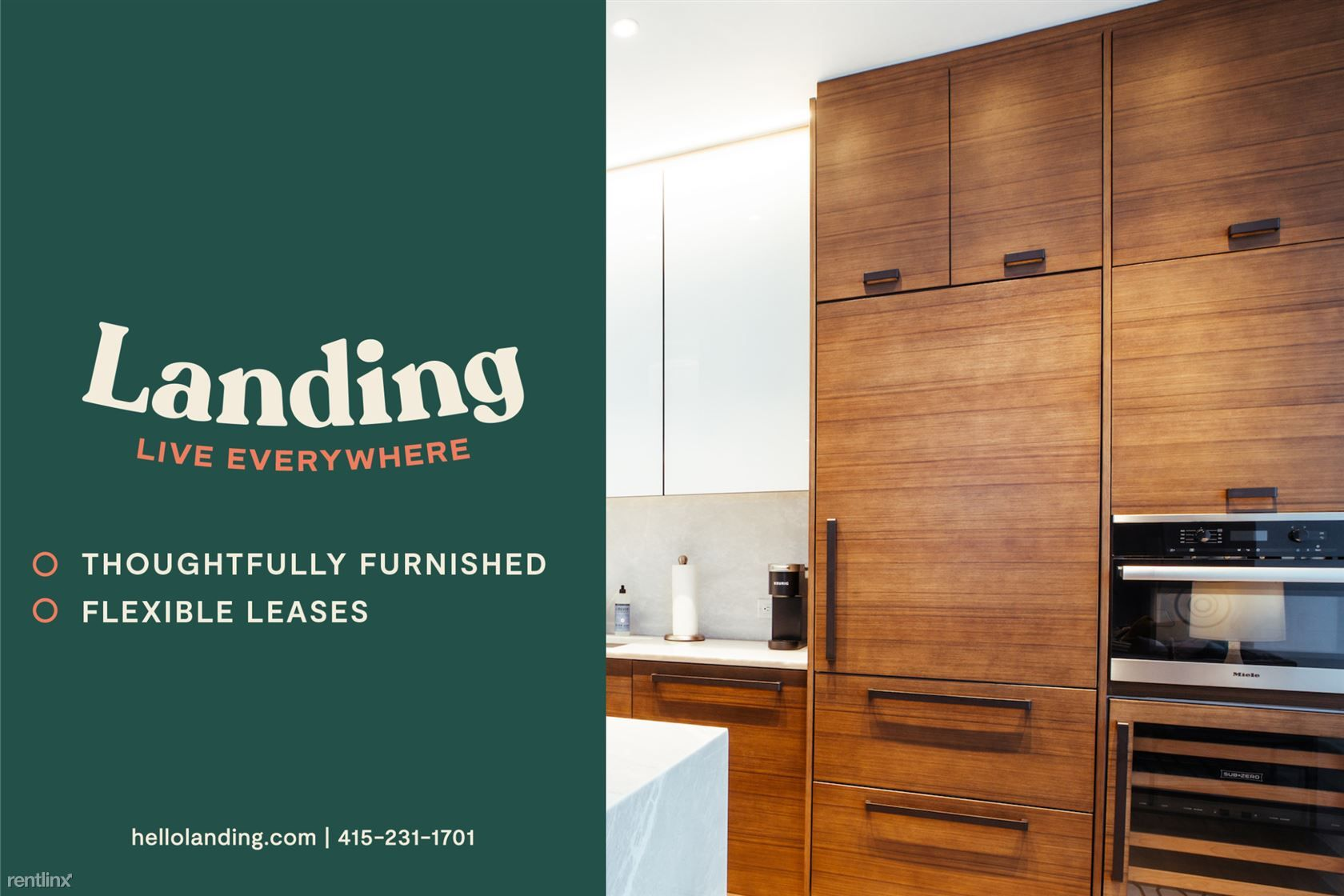 Landing Furnished Apartment The Gallery