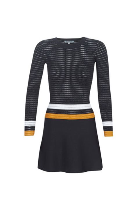 Κοντά Φορέματα Morgan ROXFA Σύνθεση: Matière synthétiques,Viscose / Lyocell / Modal,Βισκόζη,πολυαμίδη