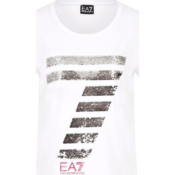 T-shirt με κοντά μανίκια Ea7 Emporio Armani 3HTT41 TJ12Z