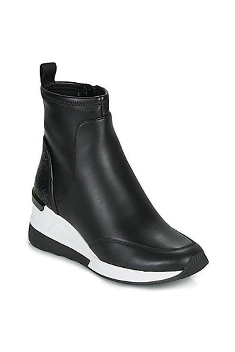 Ψηλά Sneakers MICHAEL Michael Kors KINSEY ΣΤΕΛΕΧΟΣ: Δέρμα και συνθετικό & ΕΠΕΝΔΥΣΗ: Συνθετικό και ύφασμα & ΕΣ. ΣΟΛΑ: Συνθετικό και ύφασμα & ΕΞ. ΣΟΛΑ: Καουτσούκ