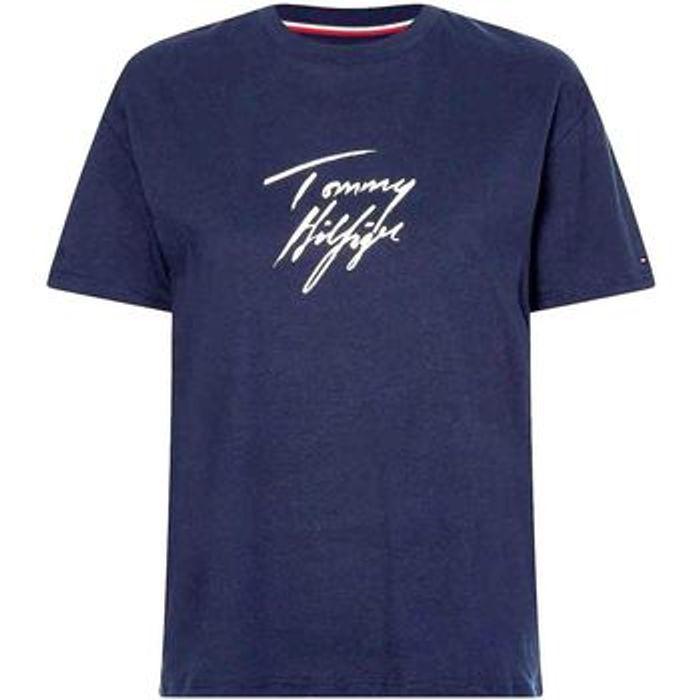T-shirt με κοντά μανίκια Tommy Hilfiger UW0UW03019