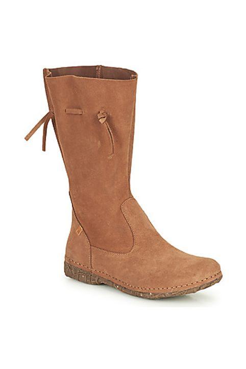 Μπότες για την πόλη El Naturalista ANGKOR ΣΤΕΛΕΧΟΣ: καστόρι & ΕΠΕΝΔΥΣΗ: Δέρμα & ΕΣ. ΣΟΛΑ: Δέρμα & ΕΞ. ΣΟΛΑ: Καουτσούκ