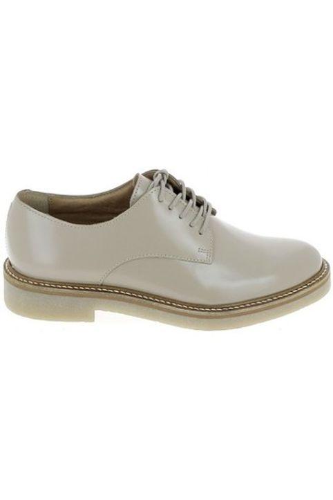 Παπούτσια Πόλης Kickers Oxfork Beige [COMPOSITION_COMPLETE]