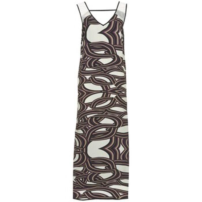 Μακριά Φορέματα Sisley SIXIOL Σύνθεση: Viscose / Lyocell / Modal,Βισκόζη