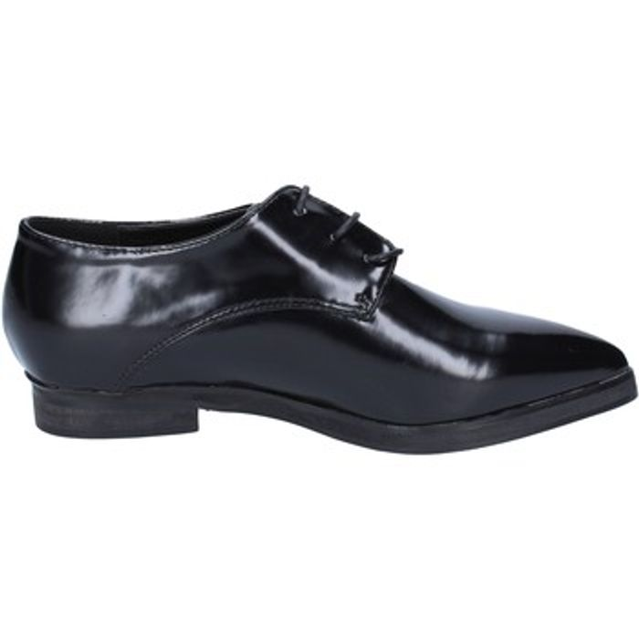 Oxfords Francescomilano classiche nero pelle BX328