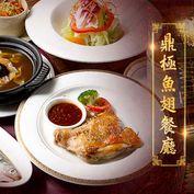 只要598元起,即可享有【鼎極魚翅餐廳】A.單人魚翅饗宴 / B.雙人魚翅饗宴