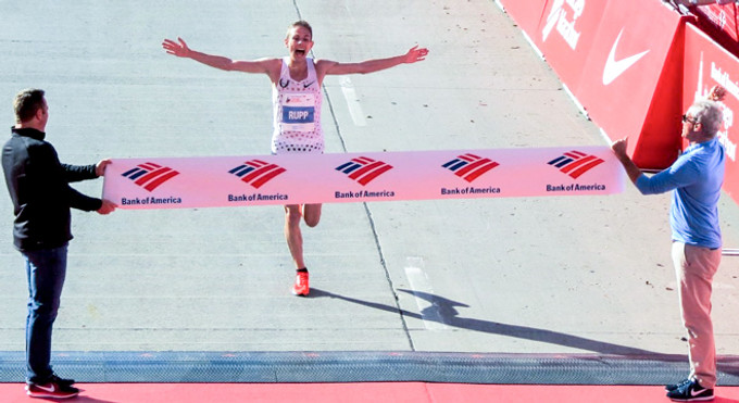 人物   芝加哥馬拉松新科冠軍Galen Rupp 白人也能跑