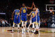 混亂!NBA最新排名:雷霆爆冷,湖人擠進前8,勇士5連勝重返第一!