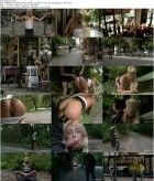 Blanche - Euro Beauty gets Tied to a Park Bench and Fucked Where Everyone Can See