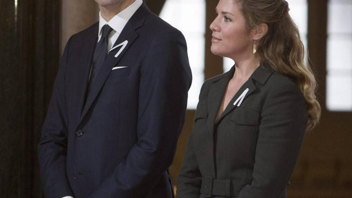 Justin Trudeau's wife Sophie asked for more help, and Canada was not amused