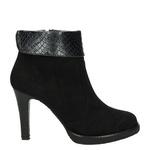 H3 Shoes Enkellaarzen Zwart