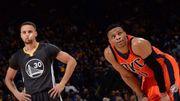 冷知識:Curry體測時的垂直彈跳能力,只比Westbrook少0.5英寸