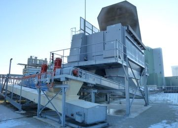 Products Intake and Storage - Dustfree Intake Hopper - Poeth Solids Processing - Tegelen